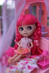 255/366 and Blythe A Day 07 June 2016 - Pretty in Pink