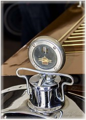 Packard Hood Ornament & Thermostat (Sugardxn) Tags: arizona southwest classic canon vintage tucson antique az hoodornament thermostat packard canoneos7d canon7d franklinautomuseum sugardxn garypentin