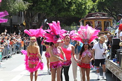 SF Carnaval 2016 (DanceAndRun) Tags: sf carnival pink hope san francisco breast cancer dancer parade carnaval performer cure manal 2016