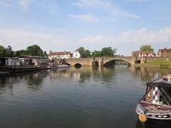 Abingdon bridge (John Steedman) Tags: uk greatbritain bridge england thames river unitedkingdom berkshire oxfordshire berks oxon grossbritannien     grandebretagne
