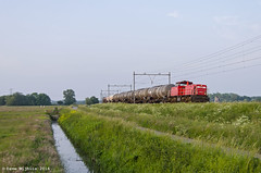 DBC 6414, Weesp 26-05-16 (Dave Nijhuis) Tags: db lelystad onnen weesp 6400 dbc 6416 kijfhoek flevolijn 61300