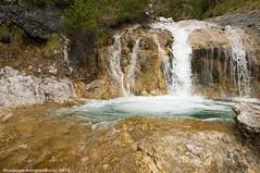 Diamonds flowing (Cjasar) Tags: alps water creek waterfall wasser salt step brook acqua alpi riu cascata torrente aghe