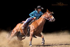 A Tongue Twister (cowgirlrightup) Tags: sexy cowgirl barrelracing cowgirlrightup atonguetwister