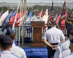 USPACOM Commander provides remarks during an assumption-of-command ceremony (#PACOM) Tags: people hawaii singapore unitedstates command leadership usairforce pacaf pacom pacificairforces jointbasepearlharborhickam assumptionofcommand admharris uspacificcommand pacom genterrencejoshaughnessy generaloshaughnessy admahrrybharris