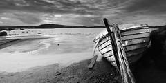 Wreckage (cylynex) Tags: shipwreck scotland isleoflewis blackandwhite monochrome uk europe cloudy stormy storm beach boat wreck abandoned travel traveling european nikon d800 santocommarato