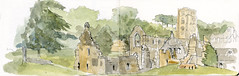 Fountains Abbey, near Ripon, North Yorkshire