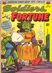 Soldiers of Fortune 6 (Michael Vance1) Tags: art adventure artist anthology soldiers comics comicbooks cartoonist