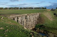 Bollinda Creek (Dobpics O'Brien) Tags: trestle bridge creek victorian rail railway victoria railways vr lancefield clarkfield bollinda