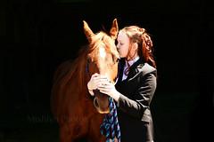 True friendship (Micheline Beaudin) Tags: friends horse love girl animal cheval kiss friendship ami amiti baiser mishlyn