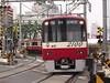 Keikyu 2100 series (elminium) Tags: japan train tokyo keikyu levelcrossing railtrack dmcg1