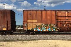 Much (Psychedelic Wardad) Tags: graffiti heavymetal much hm freight ibd