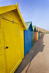 Whitby Beach Huts 02 (Photograferry) Tags: ocean sea beach landscape coast yorkshire whitby colourful northeast beachhuts northyorkshire