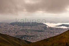 Quito The Capital City Of Ecuador (kalypsoworldphotography) Tags: above street old city travel roof sunset sky urban panorama cloud mountain building history tourism southamerica architecture landscape town quito ecuador downtown cityscape view altitude capital colonial large peak landmark center aerial historic relief spanish latin andes destination historical metropolitan cultural indigenous cordillera andean crowded dense