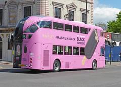SLN LT271 - LTZ1271 - OSR - COMERCIAL ROAD - THUR 30TH APRIL 2015 (Bexleybus) Tags: road new london ice all over cream 15 route add routemaster stagecoach magnum comercial tfl nbfl lt271 borismaster borisbus ltz1271