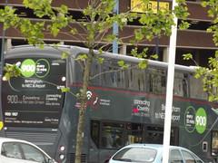 NXWM Platinum bus - no 900 to Coventry - Moor Street Queensway, Birmingham - 6703 - Anna (ell brown) Tags: greatbritain trees england anna bus tree birmingham unitedkingdom westmidlands 900 moorstqueensway nationalexpresswestmidlands nationalexpresswestmidlandsplatinum