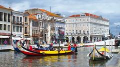 Aveiro (rgrant_97) Tags: city cidade portugal clouds boats barcos centro ria aveiro canais nvens