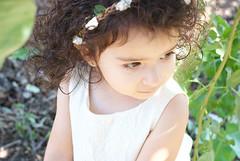 Gianna_0135 (Ciara*) Tags: girl kid toddler smiles cutie niece sunflower