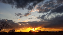 (shaftination) Tags: sunset shadow orange black beautiful silhouette backlight dark golden evening purple sundown cloudy vibrant meadow dramatic vivid pylon rays backlit outline shape grassland lastlight grassy uplifting longshadows rimlighting rimlit paulfarnfieldcom
