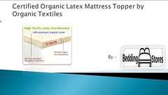 Certified Organic Latex Mattress Topper by Organic Textiles (bhadgram) Tags: by flow cool with deluxe air 4 best full foam memory latex organic textiles mattress pound dynasty topper density elastic certified therapeutic visco