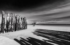 the shadows (alouest225) Tags: sea blackandwhite mer seascape france monochrome landscape nikon noiretblanc bretagne ramparts d750 paysage manche saintmalo marebasse fortnational illeetvilaine briselames
