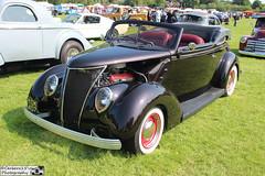 1937 Ford Convertible (cerbera15) Tags: ford fun convertible run billing 37 1937 2016 aquadrome nsra