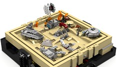 Jakku maze 4 (Oky - Space Ranger) Tags: rebel star garbage fighter order force desert lego crashed transport tie first millennium special destroyer falcon planet imperial maze xwing wars junkyard wreck ideas atat forces troop resistance outpost awakens microscale bb8 jakku
