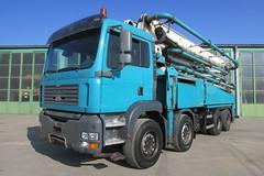 MAN TGA 35.350 (Vehicle Tim) Tags: man truck bau beton fahrzeug tga lkw betonpumpe