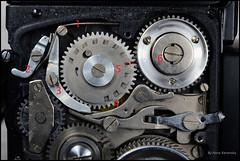 Kalloflex Transport & Counter Mechanism (10) (Hans Kerensky) Tags: kowa kalloflex transport stop counter mechanism gears working overview problem repaired