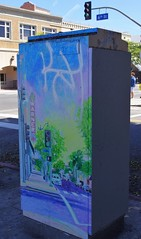 Warner Grand Theater - Utility Box