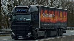 D - SK Logistik >Oranier< DAF XF 106 SSC (BonsaiTruck) Tags: truck 106 lorry camion trucks sk lastwagen daf lorries lkw xf lastzug oranier