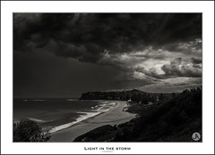 Light in the Storm (John_Armytage) Tags: seascape storm rain clouds landscape australia newportbeach newport nsw northernbeaches sony1635 visitnsw johnarmytage sonya7r2