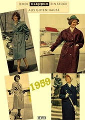 Kleppermode 1959 (hpdyko) Tags: fashion raincoat 1959 klepper regenmantel kleppermantel