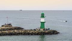 The Cruise Begins (dietmar-schwanitz) Tags: lighthouse water warnemnde wasser balticsea ostsee rostock leuchtturm lightroom dietmarschwanitz nikond750 nikonafsnikkor24120mmf40ged