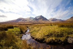 Scotland Day Three (Crazyideas95) Tags: trip sky mountain creek river scotland highlands stream ben sunny glencoe lomond buachailleetivemor