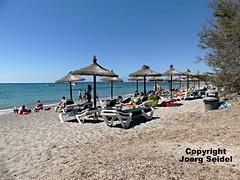 ES-07550 Costa de los Pinos (Mallorca) Strand/Beach Cala sa Marjal im Juli 2016 (Joerg Seidel) Tags: strand beach playa mallorca majorca costadelospinos calamillor calabona kste outdoor sand landschaft spain spanien meer sea