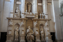 Moses by Michelangelo Buonarroti in church of San Pietro (enurweb) Tags: holy church rome italy sculpture architecture indoor moses sanpietro michelangelobuonarroti michelangelo