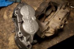 AP 4 Pot (non-vented) (mini/eng) Tags: austin mini restoration brakes ap 4 pot caliper evaporust