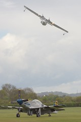 PBY & P-51 (Desmo Dave) Tags: catalina aircraft mustang p51 pby oldwarden