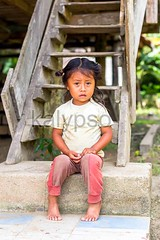 Portrait Of Young Indigenous Girl (kalypsoworldphotography) Tags: poverty park portrait people house southamerica girl face youth race person kid ecuador amazon stair child sad looking close little expression candid indian poor young dirty national jungle pre latin friendly editorial curious misery aboriginal staring unhappy indigenous cuyabeno amazonian amazonia swarthy colonization columbian quechua yasuni