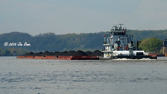 MV Linda Little (jimross90) Tags: coal tow barge ohioriver towboat lindalittle crounsecorp