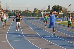 D125718A (RobHelfman) Tags: sports losangeles track highschool finals crenshaw justinalexander citysection