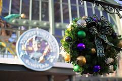 Port Orleans - French Quarter wreath (travelingnorthagency) Tags: holiday orlando florida wreath frenchquarter waltdisneyworld travelagency portorleans 2014 travelagent orlandoflorida travelingnorth travelingnorthagency