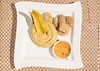 Chicharrón de pirarucu con tacacho a los 3 quesos (Patricia Vélez) Tags: pescado amazonas plátano arapaima quesos chicharrón pirarucu cocinaexótica cocinaamazónica lachagra juansantiagogallego cheflachagra