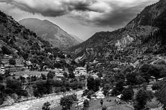 The Valleys of Naran , Kaghan, KPK, Pakistan (Zahid Farooq Photography) Tags: travel pakistan blackandwhite monochrome mono fineart scenic roadtrip grayscale kaghan shogran naran kpk kunharvalley monoart