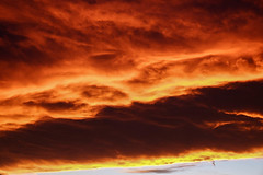 Aurora Firey Sunset (Molly Dog Images (Not sized for printing)) Tags: sunset red sky clouds photography intense colorado fuji purple awesome photograph aurora fujinon firey xseries stillphotography johnmcarthur mollydogimages mollydogimagescom