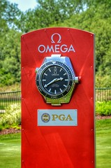 Official Time (mswan777) Tags: red game clock senior sport golf harbor major championship official nikon time michigan omega sigma tournament timepiece pga 70300mm shores d5100