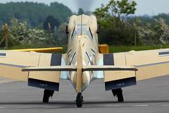 Buchon (Bernie Condon) Tags: plane flying aircraft aviation duxford hispano bf 109 messerschmitt aviacin buchon ha1112