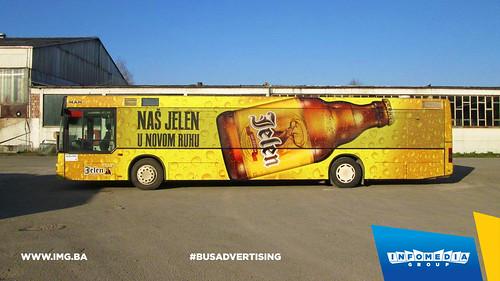 Info Media Group - Jelen pivo, BUS Outdoor Advertising, 03-2016 (1)