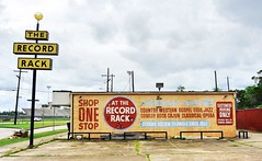 A Wonderland of Golden Hits...The Record Rack (Rob Sneed) Tags: urban music records abandoned vintage globe opera comedy texas country jazz soul classical recordstore cajun thegoldentriangle gospel outofbusiness beaumont easttexas ghostsign countrywestern jeffersoncounty onestopshop since1959 therecordrack