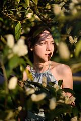 (alexandrabidian1) Tags: light sunset portrait sun green girl beautiful germany 50mm spring nikon wiesbaden outdoor availablelight f14 atmosphere fullframe d800 endoftheday kurpark portraitlovers